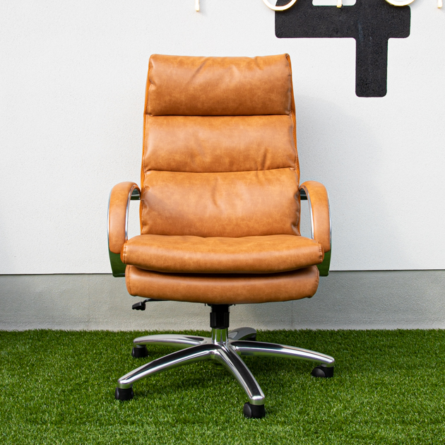 LEATHER POCKET COIL CHAIR Ⅱ