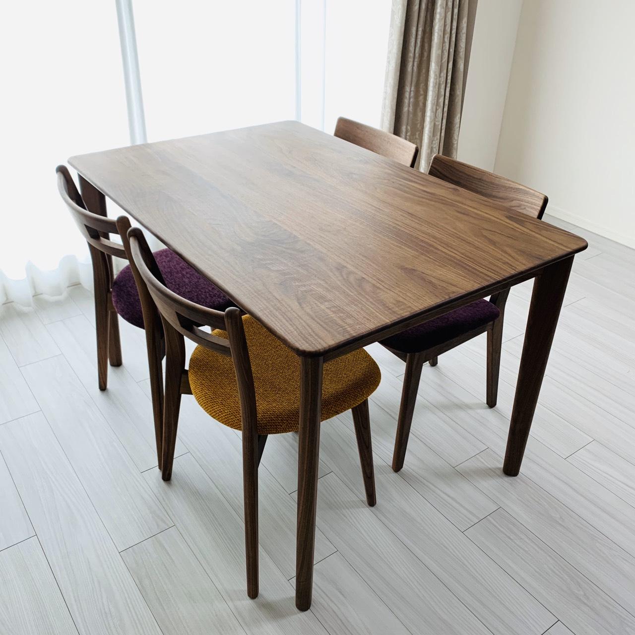 【納品事例】お客様のダイニングテーブルをご紹介