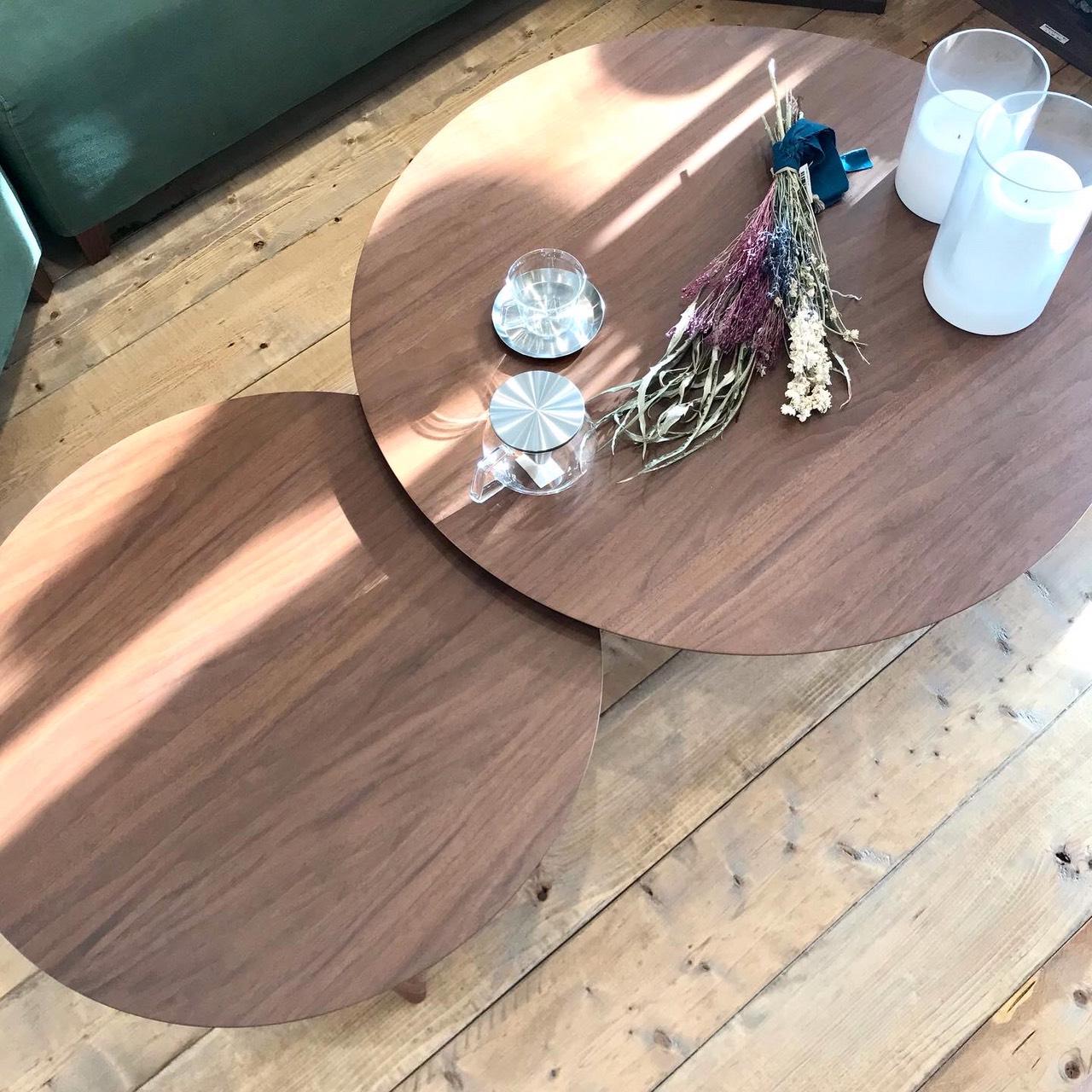 まあるい形が可愛い『balloon living table』